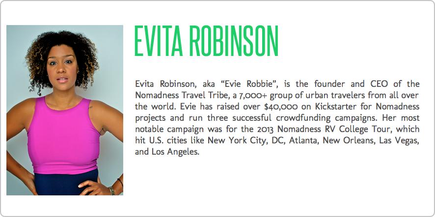 Evita Robinson Profile